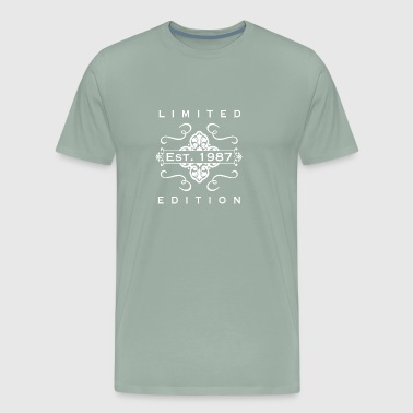 Limited Edition Est 1987 - Men's Premium T-Shirt
