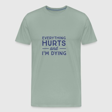dying - Men's Premium T-Shirt