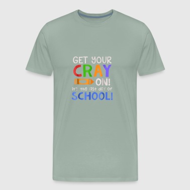 Crayfish Get Your Cray On T Shirt - Men's Premium T-Shirt