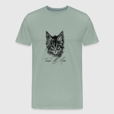 Proud Cat Mom - Men's Premium T-Shirt