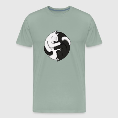Yin Yang Cats 2 - Men's Premium T-Shirt
