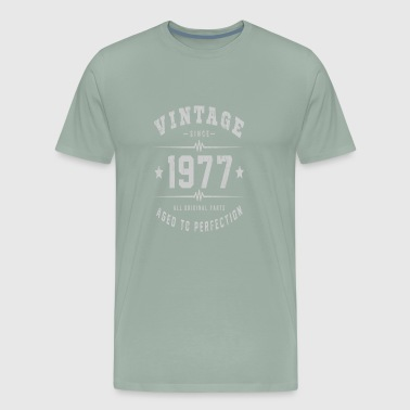 Vintage 1977 Aged To Perfection - Men's Premium T-Shirt