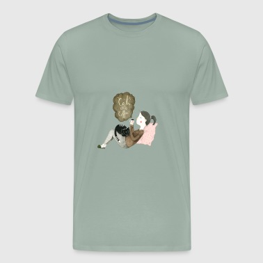 Cats And Coffee - Men's Premium T-Shirt