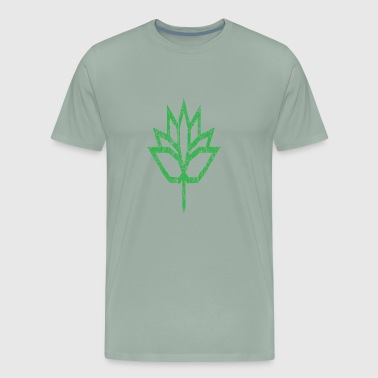 Lotus Cars Vintage Green Lotus Flower Star - Men's Premium T-Shirt