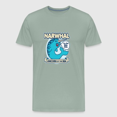 Narwhal - Men's Premium T-Shirt