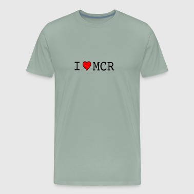 I LOVE MCR MANCHESTER - Men's Premium T-Shirt