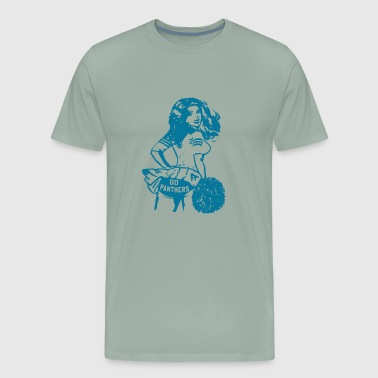 Vintage Carolina Panthers T Shirt Carolina Panther - Men's Premium T-Shirt