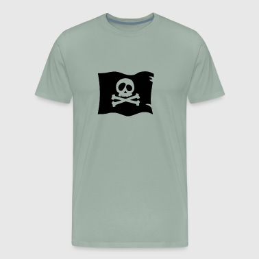 Pirates flag - Men's Premium T-Shirt