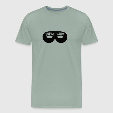 Super Hero mask - Men's Premium T-Shirt
