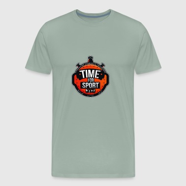 Time For Sport - Men's Premium T-Shirt