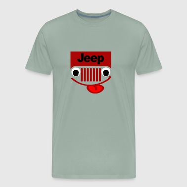 Jeep With Eyes - Men's Premium T-Shirt