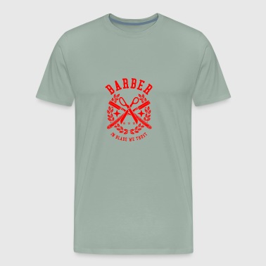 Barber Design - Men's Premium T-Shirt