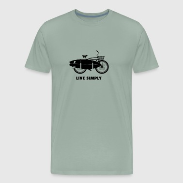 Live simply - Men's Premium T-Shirt