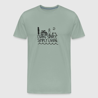 Living simply - Men's Premium T-Shirt