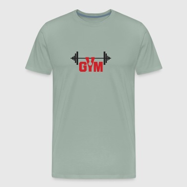 Gym logo 02 - Men's Premium T-Shirt