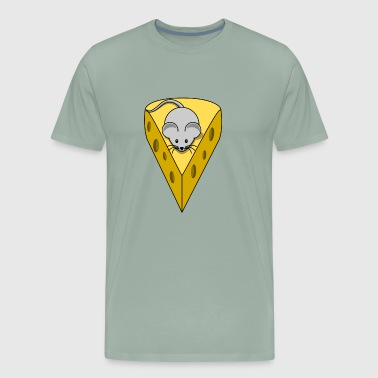 Cheese mice - Men's Premium T-Shirt
