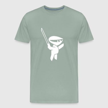 Cartoon Ninja - Men's Premium T-Shirt