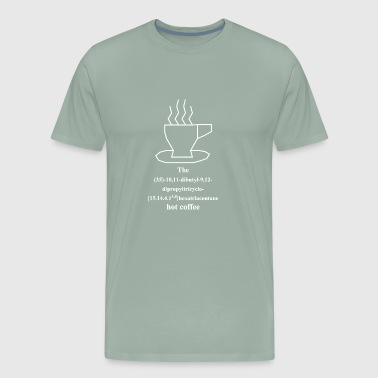 Hot coffee - IUPAC - white - Men's Premium T-Shirt