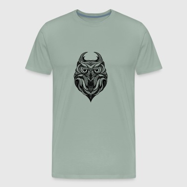 OWL TRIBAL - Men's Premium T-Shirt