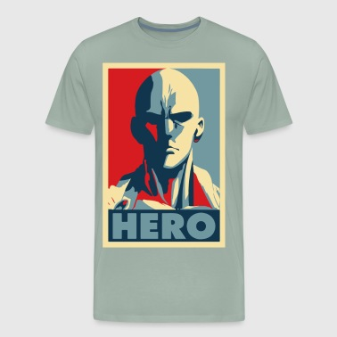 one punch man hero - Men's Premium T-Shirt