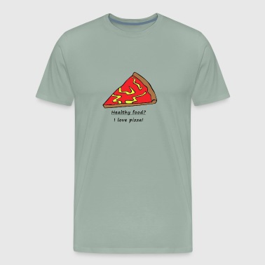 I love pizza - For pizza freaks - Men's Premium T-Shirt