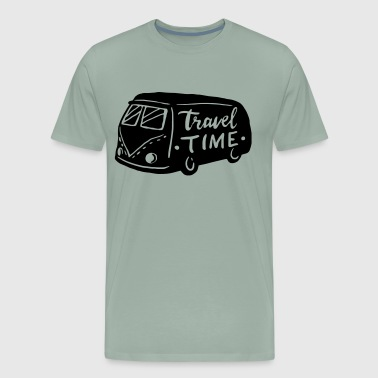 travel time - Men's Premium T-Shirt