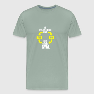 Go To The Gym - Men's Premium T-Shirt