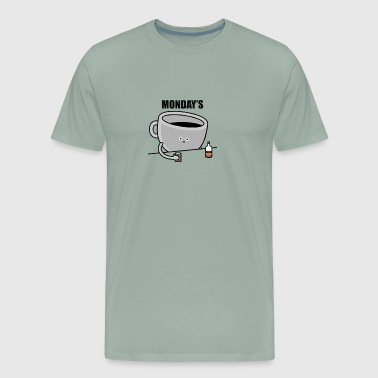 mondays - Men's Premium T-Shirt
