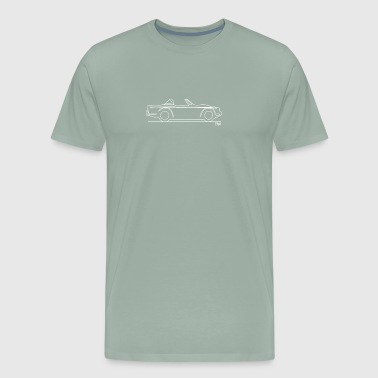 Triumph TR4a Surrey top - Men's Premium T-Shirt