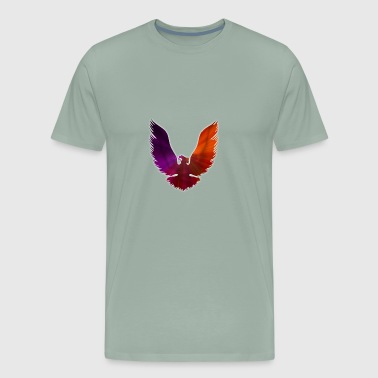 phoenix fire bird logo - Men's Premium T-Shirt