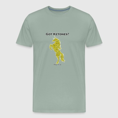 Got Ketones Tshirt Yellow Sparkle Unicorn - Men's Premium T-Shirt