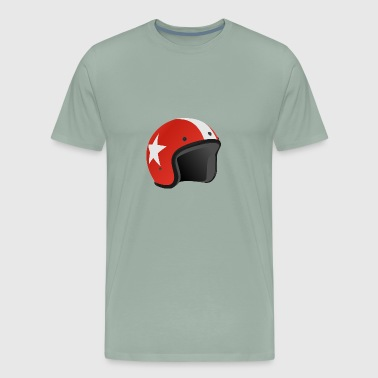helmet - Men's Premium T-Shirt