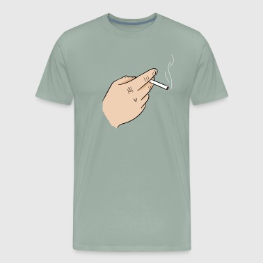 Cigarette - Men's Premium T-Shirt