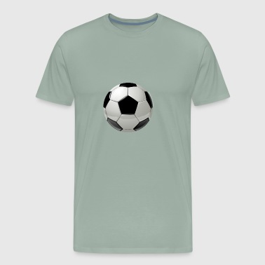 soccer ball (big) - Men's Premium T-Shirt