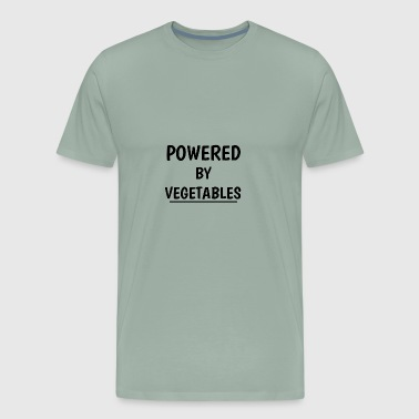 POWERED BY VEGETABLES - Men's Premium T-Shirt