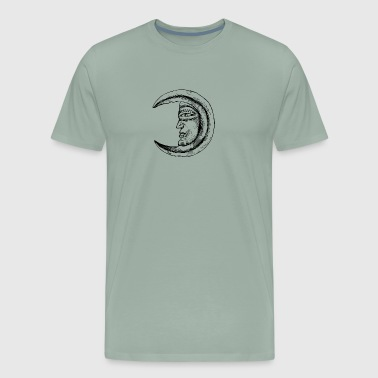 Man In The Moon - Men's Premium T-Shirt