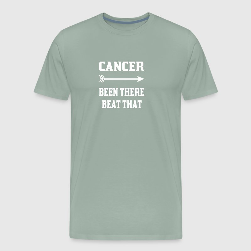 Cancer been there beat that tshirts - Men's Premium T-Shirt