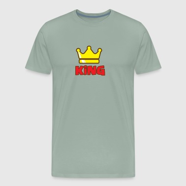 Family King and Queens King - Dad - Men's Premium T-Shirt