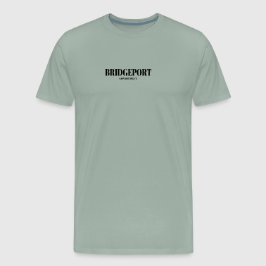 CONNECTICUT BRIDGEPORT US DESIGNER EDITION - Men's Premium T-Shirt