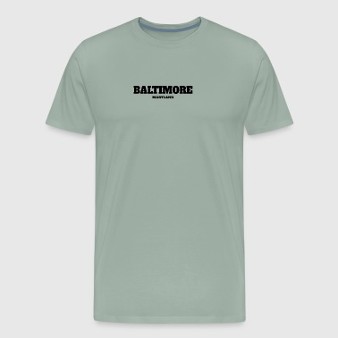 MARYLAND BALTIMORE US EDITION - Men's Premium T-Shirt