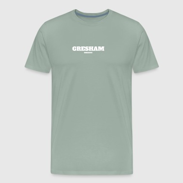 OREGON GRESHAM US EDITION - Men's Premium T-Shirt