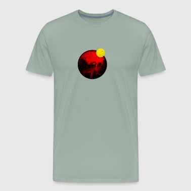 Eclipse, Total Solar Eclipse - Men's Premium T-Shirt