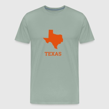 Texas state - Men's Premium T-Shirt