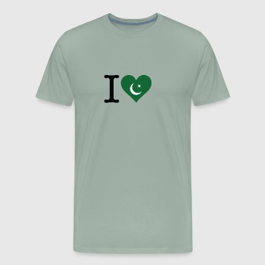 I Love Pakistan - Men's Premium T-Shirt