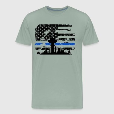 Air Traffic Control Flag Shirt - Men's Premium T-Shirt