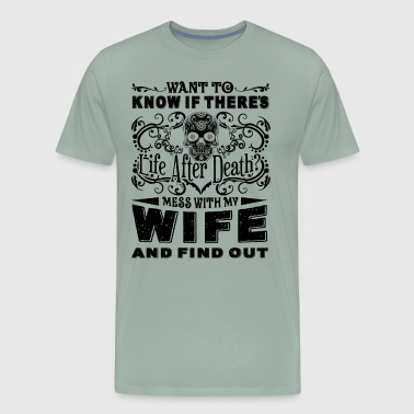 Correctional Officer Wife Shirt - Men's Premium T-Shirt