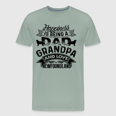 Newfoundland Dad Happiness Shirt - Men's Premium T-Shirt