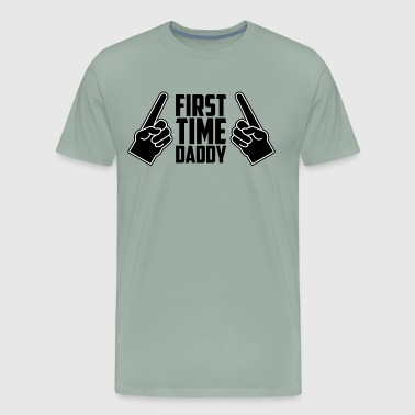 The New Yorker First Time Daddy Shirt New Dad Father's Day - Men's Premium T-Shirt