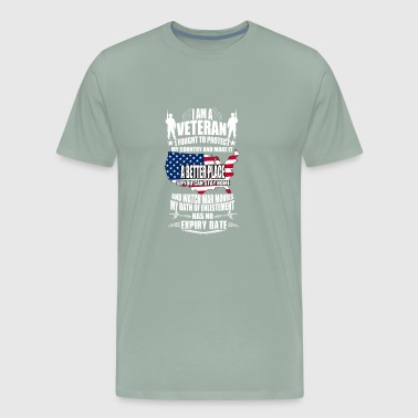 US VETERAN - Men's Premium T-Shirt