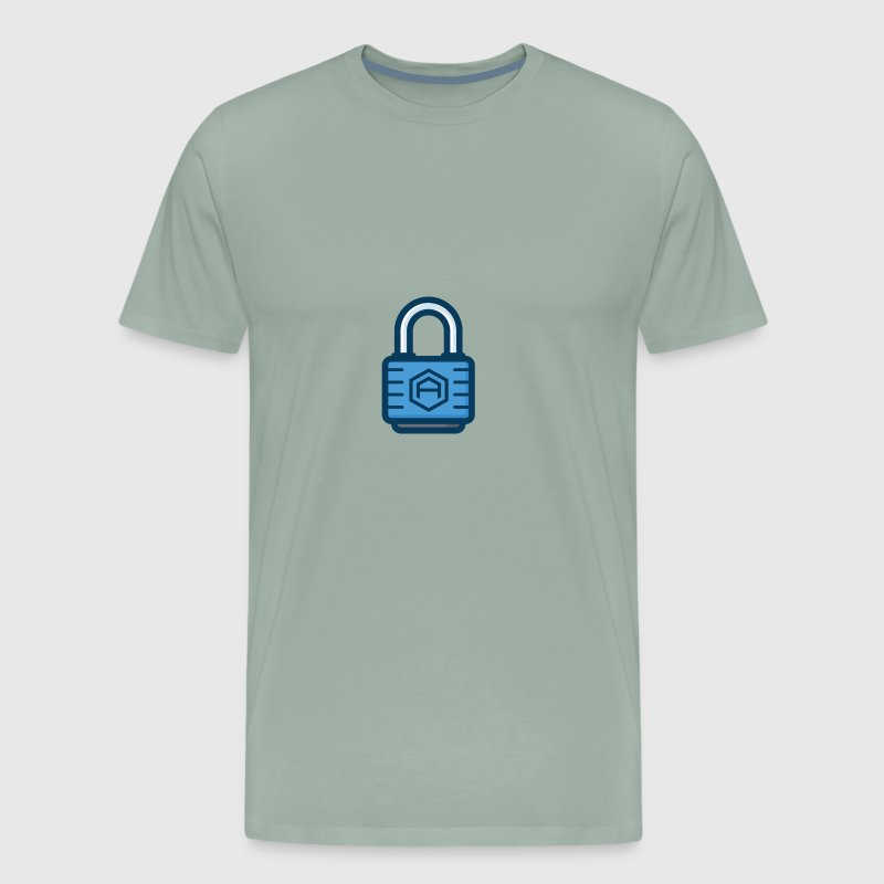 AriseCoin Lock - Men's Premium T-Shirt